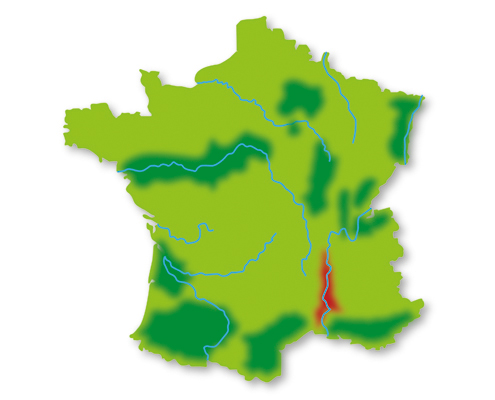 Lotte weet Wijn Frankrijk wijngebieden Rhône