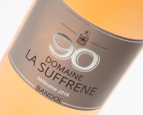 Bandol rosé Domaine La Suffrene