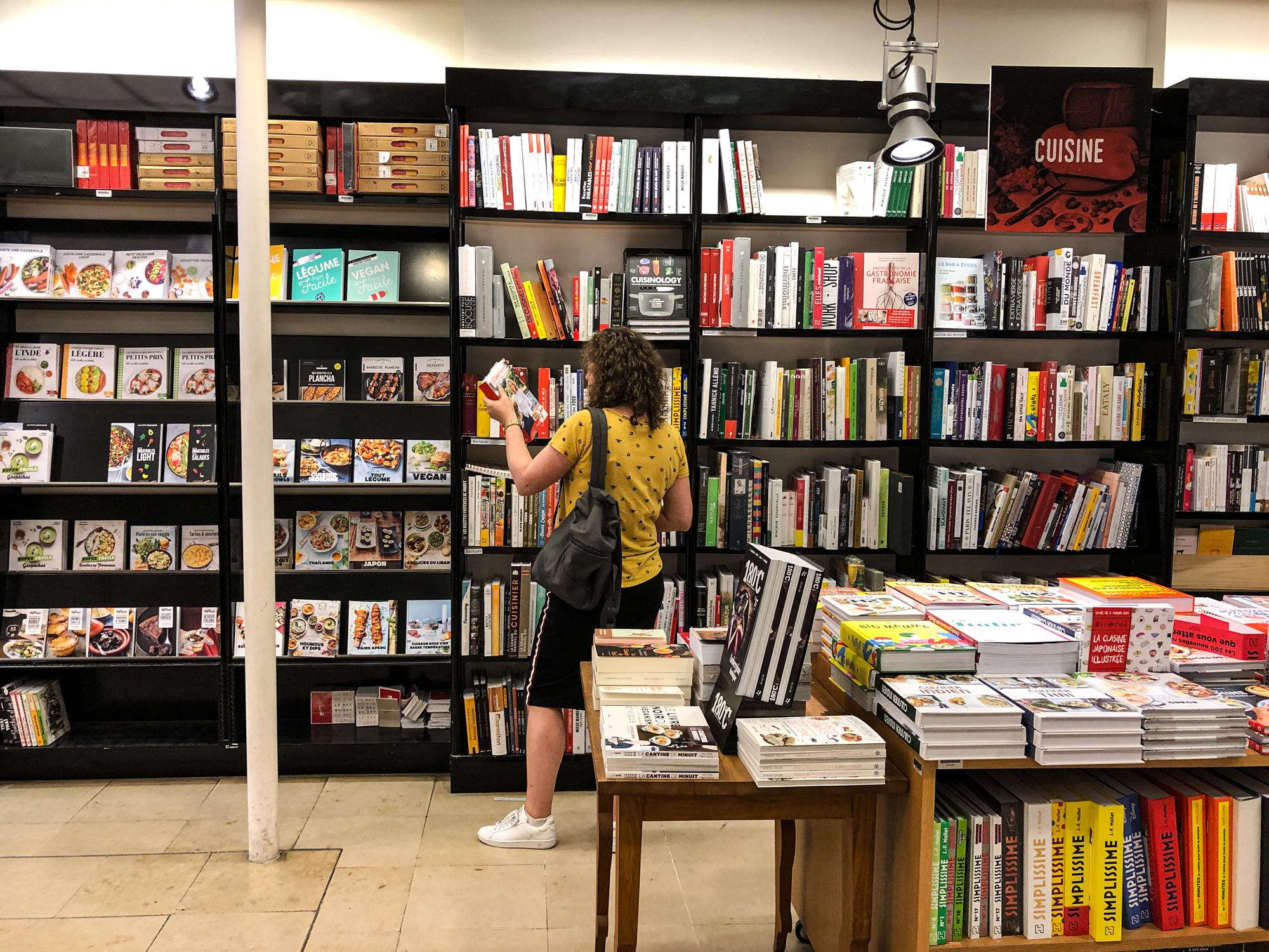 Boekenwinkel Mollat Bordeaux