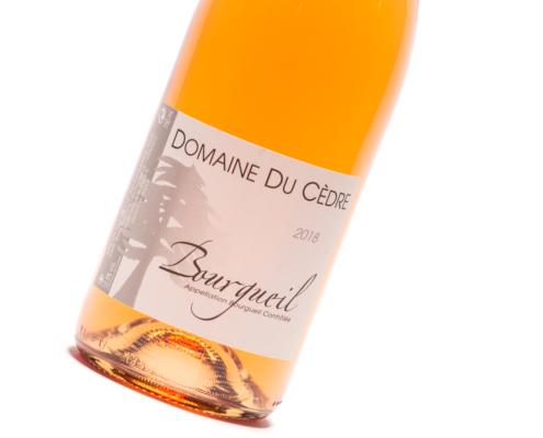 rose van cabernet franc Domaine du cedre