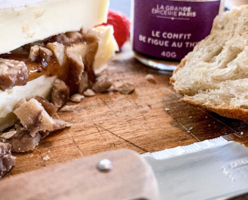 Brie à la châtaigne - Net als in Frankrijk
