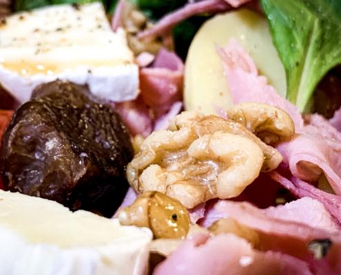 Salade Ardéchoise net als in Frankrijk