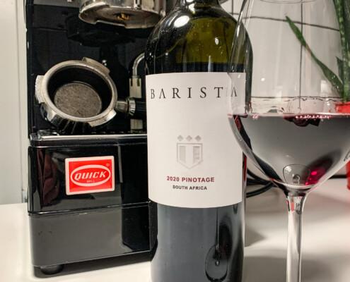 Wijnnotitie Barista pinotage